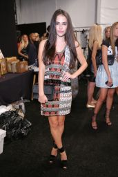 Chloe Bridges - Nicole Miller Fashion Show in New York City – September 2014