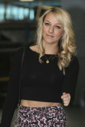 Chloe Madeley at the ITV Studios in London - September 2014
