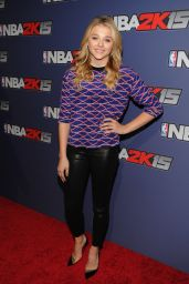 Chloe Moretz Attends NBA 2K15 Launch Celebration