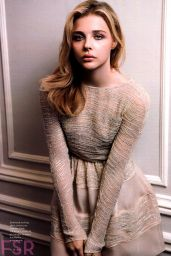 Chloe Moretz - Elle Magazine (US) October 2014 Issue