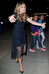 Chloe Moretz - Night Out Style - New York City, September 2014