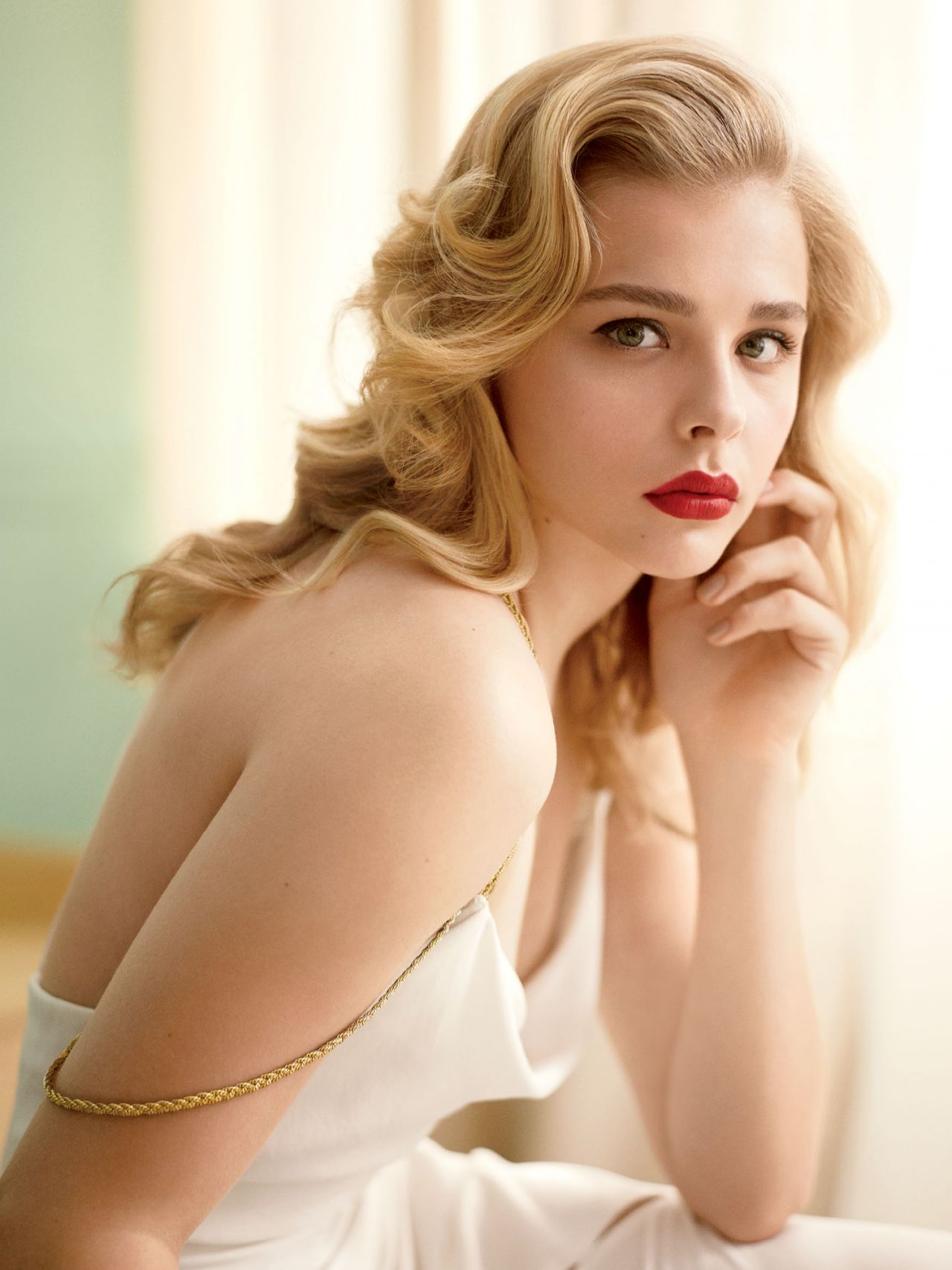 Chloe Moretz – Photoshoot for Allure Magazine September 2014