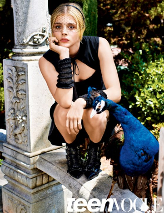 Chloe Moretz - Teen Vogue Magazine October 2014 Issue