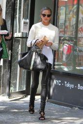 Chrissy Teigen Style - Out in New York City - September 2014