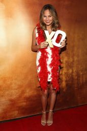 Chrissy Teigen - XOXO & Chrissy Teigen Fall 2014 Campaign Launch Party in New York City