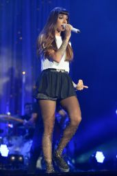 Christina Perri Perfotms at Demi World Tour 2014 at American Airlines Arena in Miami