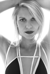 Claire Danes - B&W Photoshoot for Harper