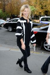 Clemence Poesy - Paris Fashion Week - Chloe