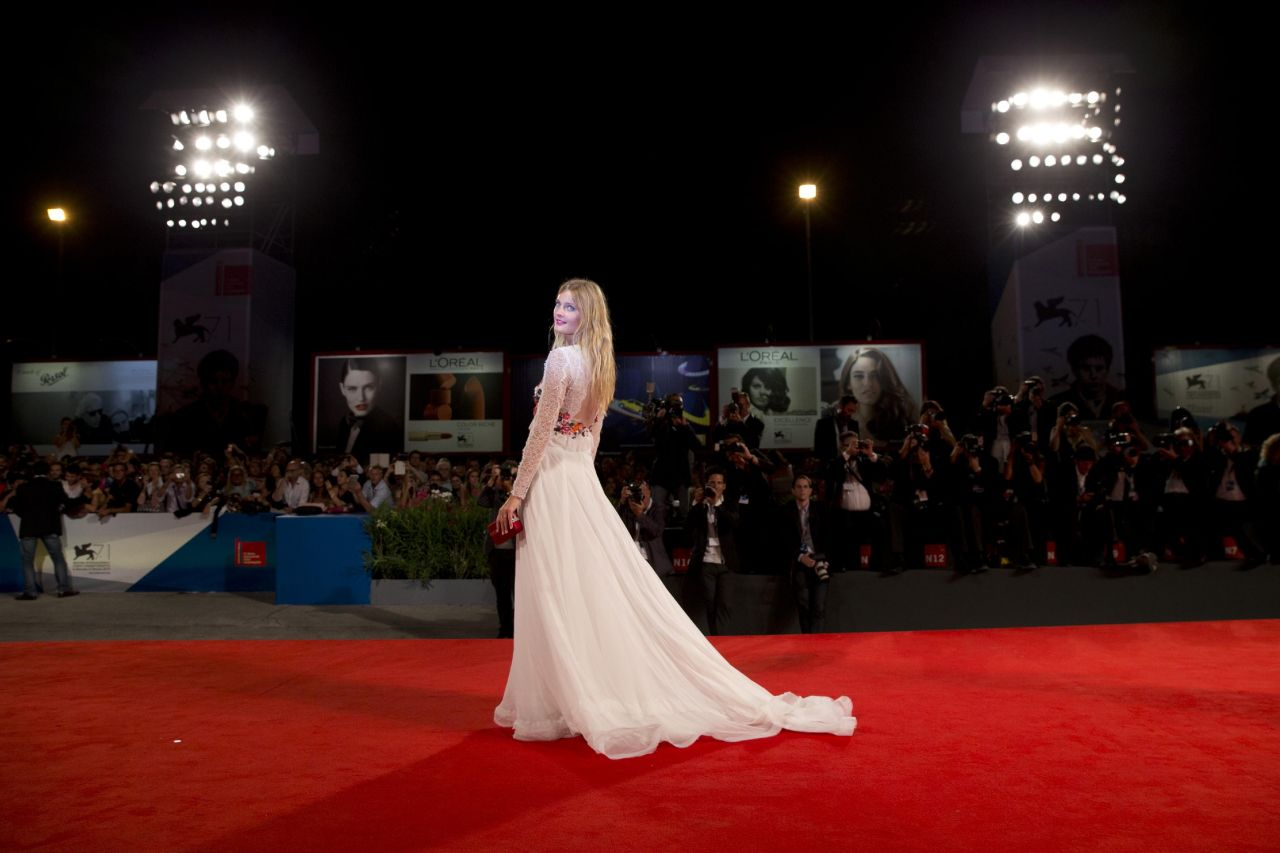 Constance Jablonski – 'The Humbling' Premiere – Venice Film Festival 2014