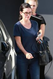 Courteney Cox Out in Beverly Hills - September 2014