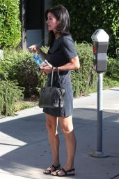 Courteney Cox Out in Los Angeles, September 2014