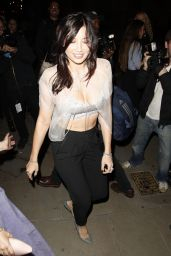 Daisy Lowe at London Fashion Week Spring/Summer 2015