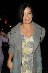 Daisy Lowe - Jonathan Saunders Show - London Fashion Week 2014