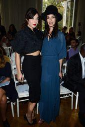 Daisy Lowe - Paris Fashion Week - Saint Laurent Show, Sept. 2014