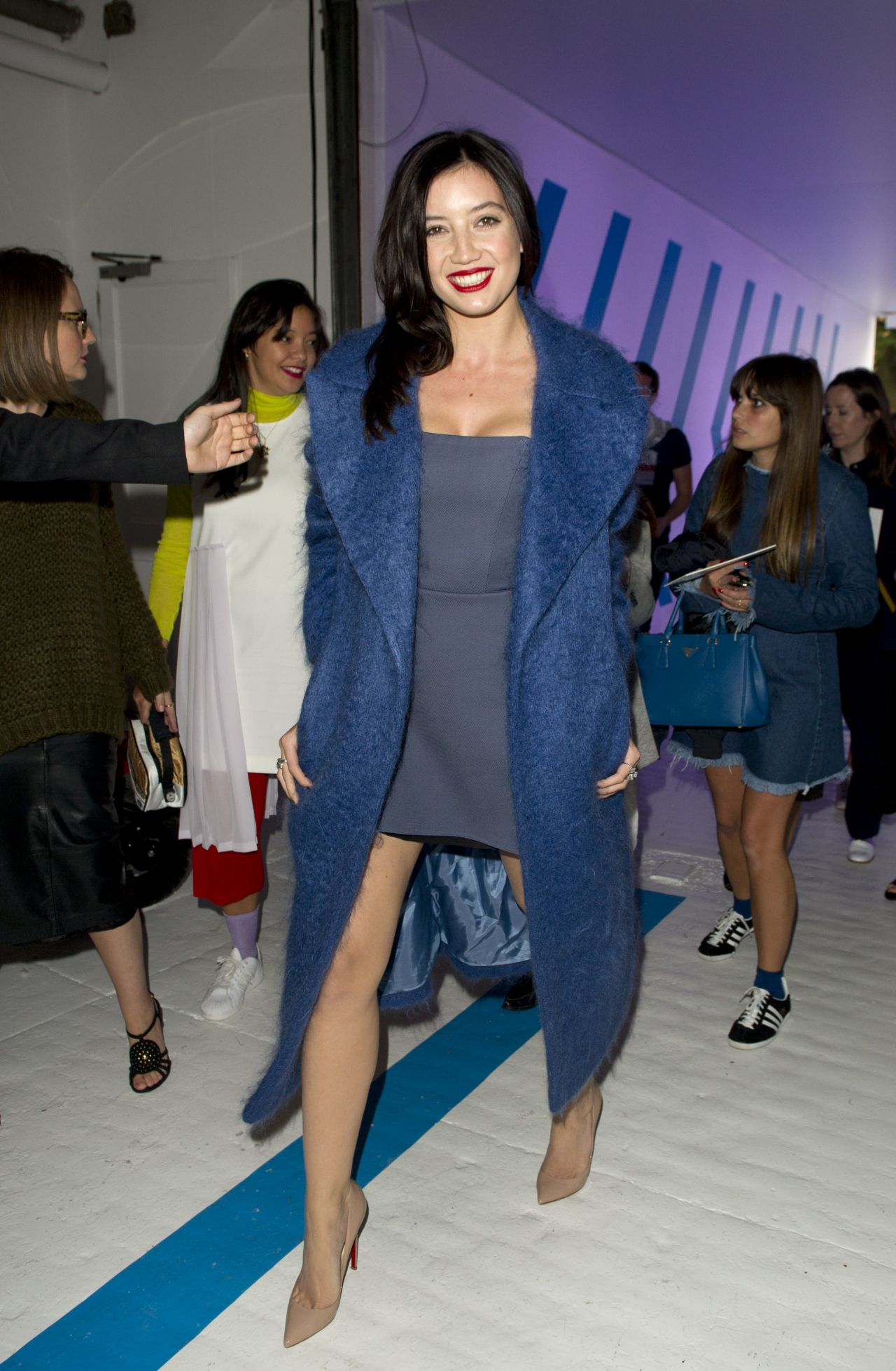 Daisy Lowe – Topshop Unique Show – London Fashion Week Spring/Summer 2015