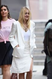 Dakota Fanning Out in New York City - September 2014
