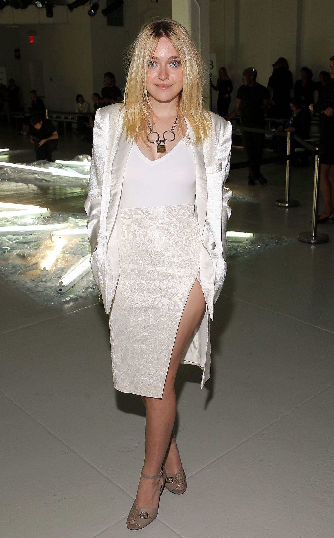 Dakota Fanning - Rodarte Fashion Show in New York City – Sep 2014