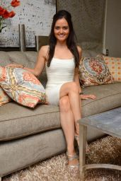 Danica McKellar – Dancing With the Stars S19 Gifting Suite in Los Angeles – Sept. 2014