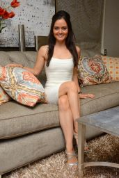 Danica McKellar - Dancing With the Stars S19 Gifting Suite in Los Angeles - Sept. 2014