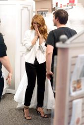 Debby Ryan - Shopping for a Wedding Dress for Her Show