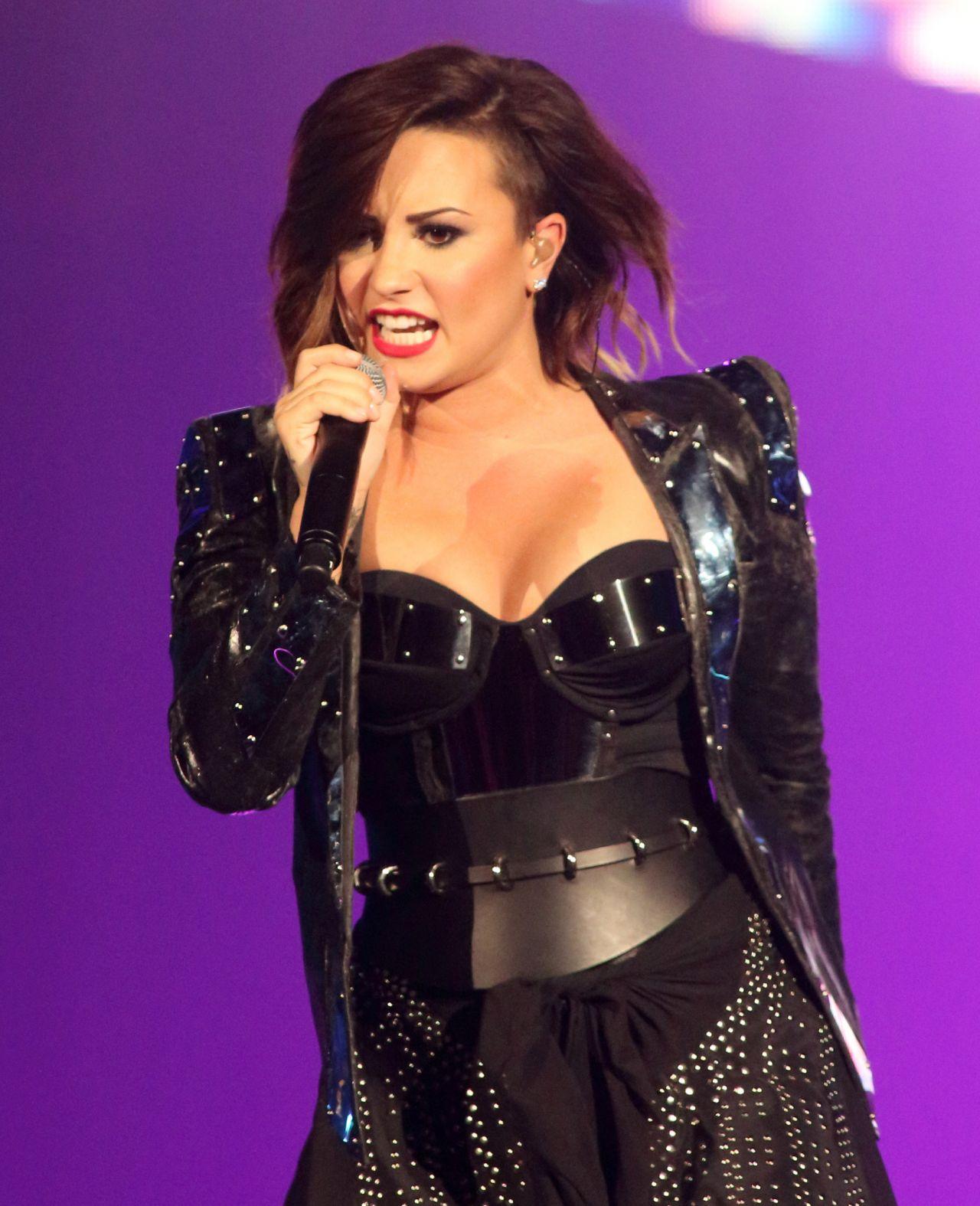 Demi Lovato Performing in Baltimore - September 2014