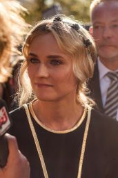 Diane Kruger at Reopening of the Berlin Walk of Fame - September 2014