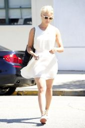 Dianna Agron Out in Beverly Hills - September 2014