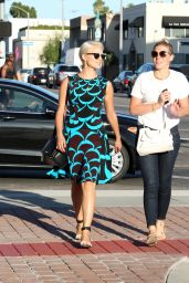 Dianna Agron Style - Out in West Hollywood - September 2014