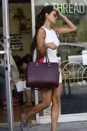 Eiza Gonzalez - Leaving Her Local Nail Spa in Los Angeles - September 2014