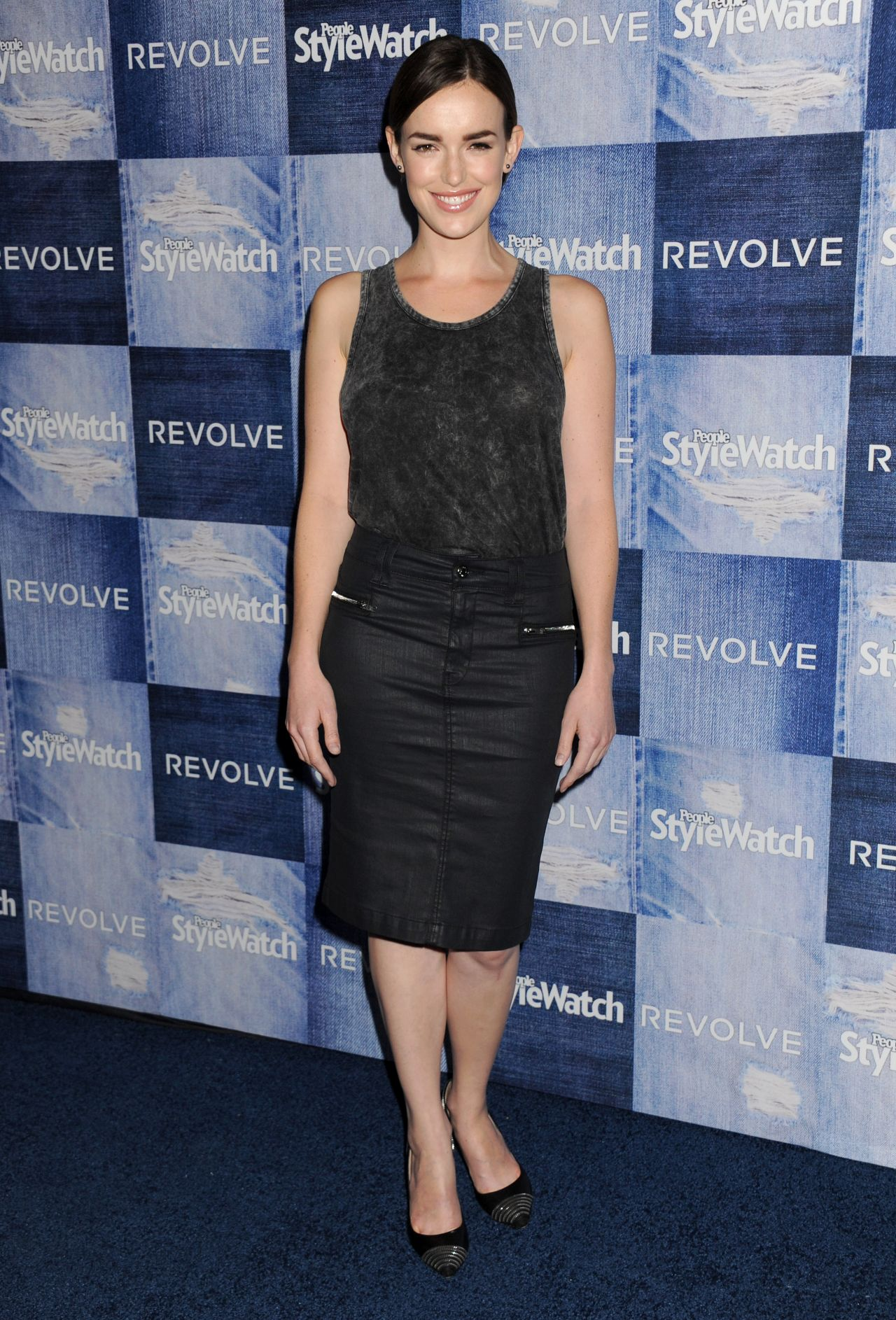 Elizabeth Henstridge – People StyleWatch 2014 Denim Party in Los Angeles