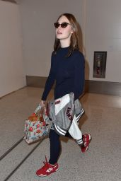 Elle Fanning Style - at LAX Airport, September 2014 9/21/14