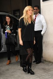 Ellie Goulding at BBC Radio 1 in London - Sept. 2014
