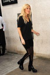 Ellie Goulding at BBC Radio 1 in London - Sept. 2014