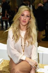 Ellie Goulding -  Paris Fashion Week - Chloe Show, September 2014