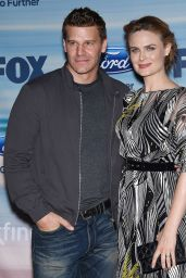 Emily Deschanel - 2014 FOX Fall Eco-Casino Party