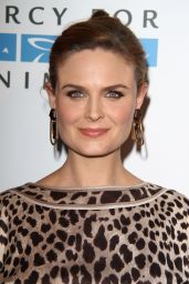 Emily Deschanel - 2014 Mercy For Animals Gala in London Hotel, California