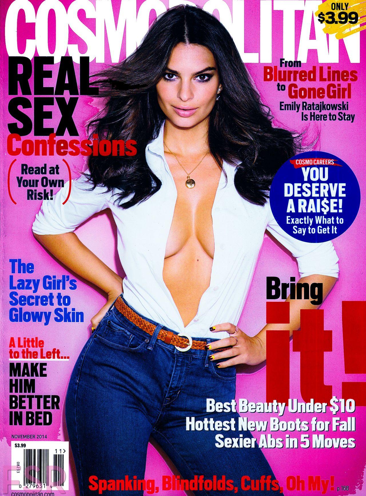 Emily Ratajkowski - Cosmopolitan Magazine (US) November 2014 Issue