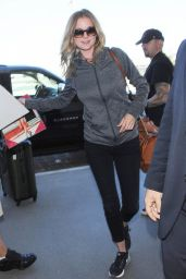 Emily VanCamp Sport Style - at LAX Airport, Sept. 2014
