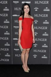 Emma Eliza Regan Attends Hunger Magazine Issue 7 Launch Party in London