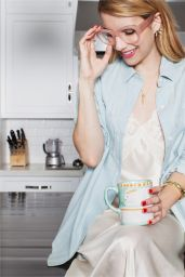 Emma Roberts - Photoshoot for BaubleBar Collection - Fall 2014