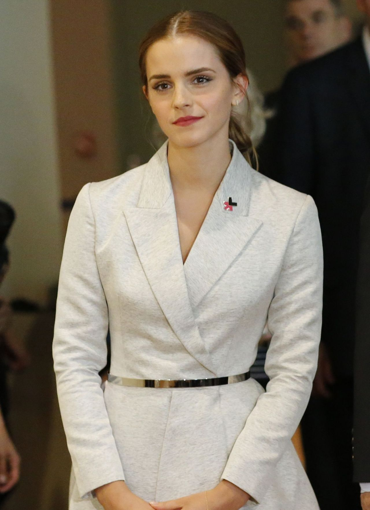 Emma Watson At The United Nations In New York City -9687