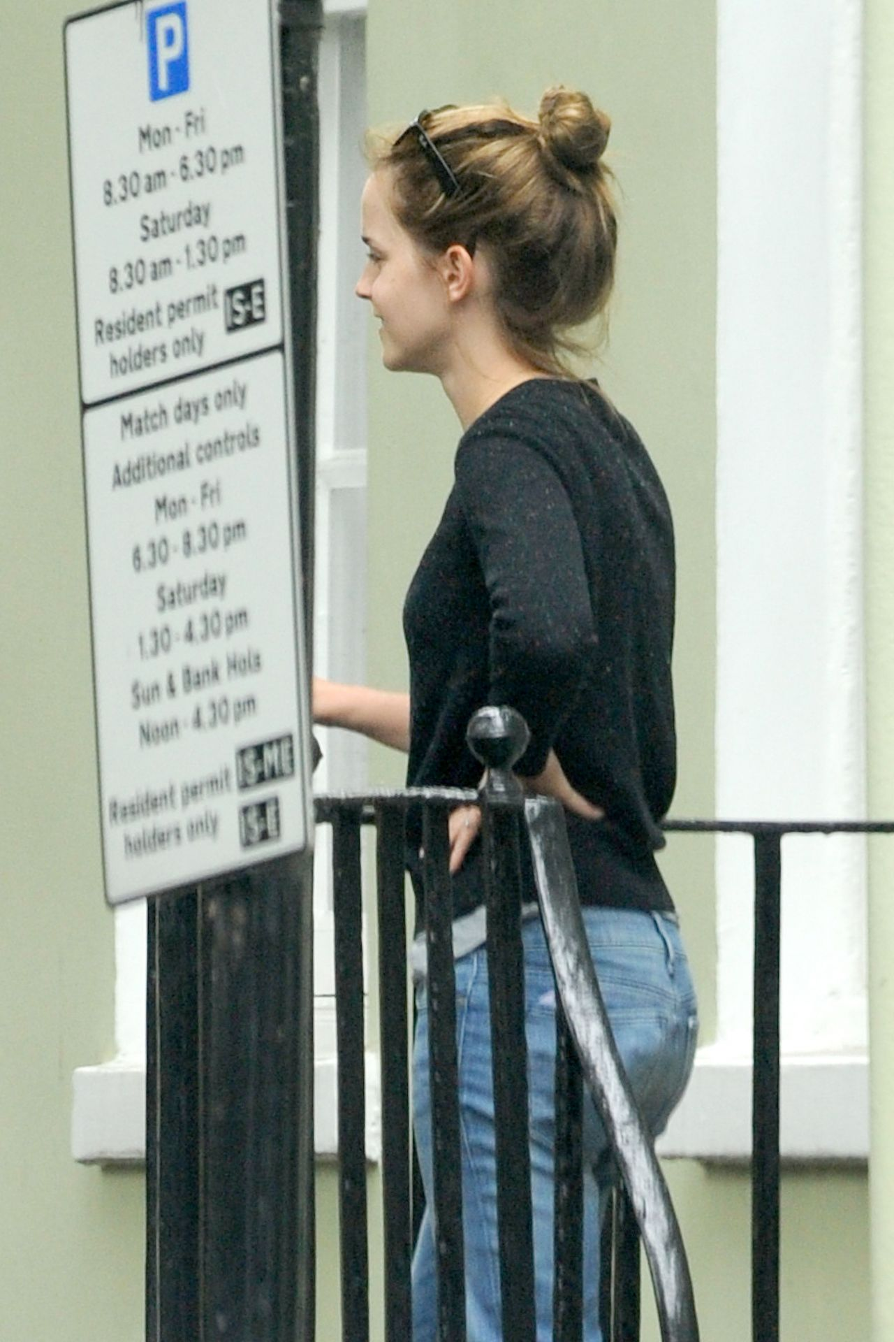 emma watson moving out of her place in london september 2014