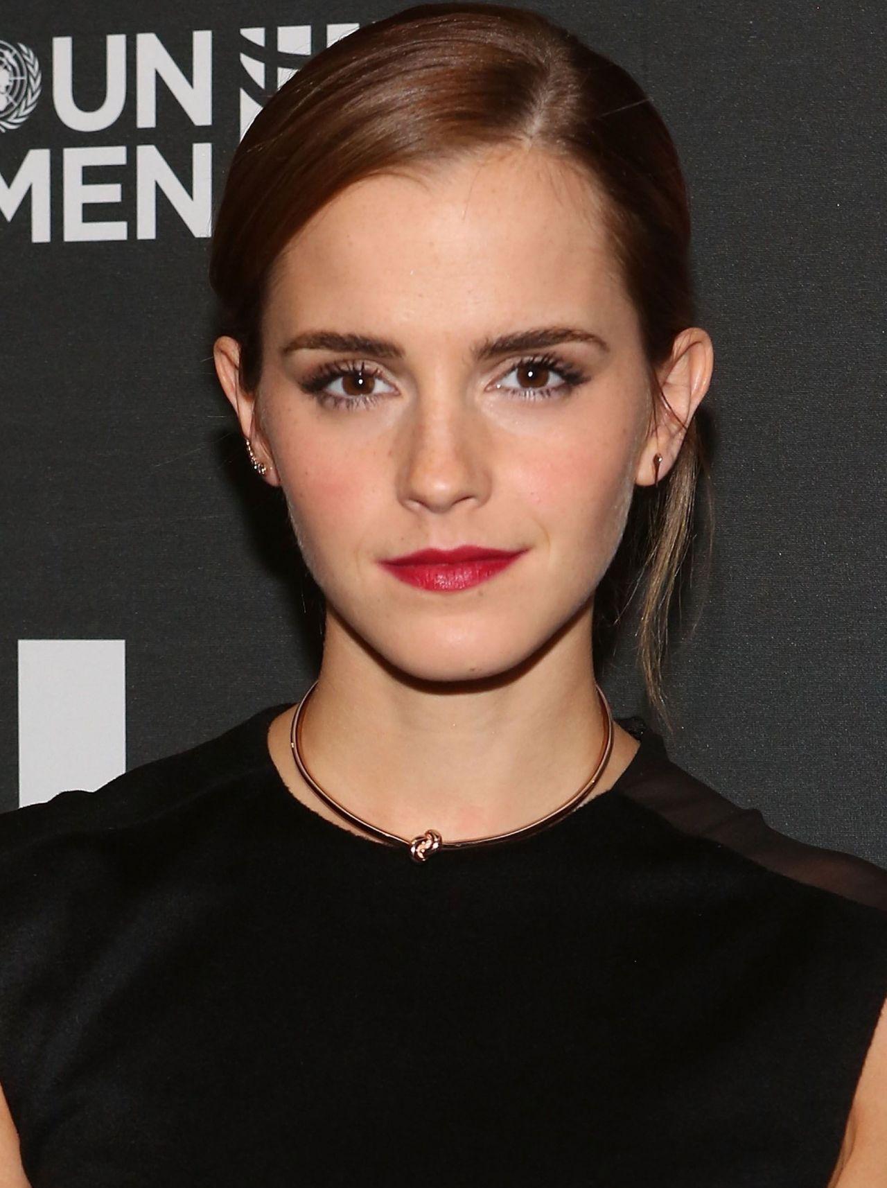 Emma Watson Un Women S Heforshe Afterparty In New York