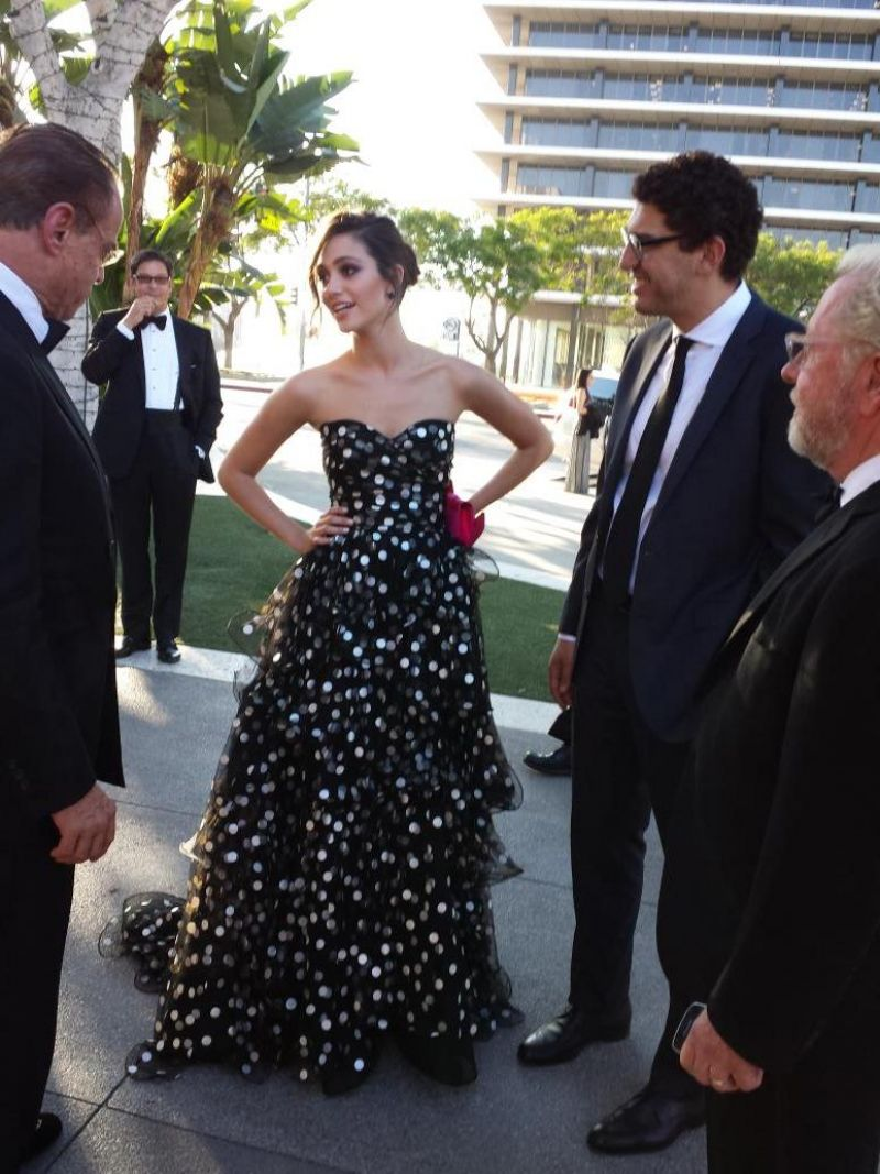 Emmy Rossum at the Opera Ball in Los Angeles - September 2014