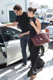Emmy Rossum - Having Lunch in Beverly Hills - September 2014