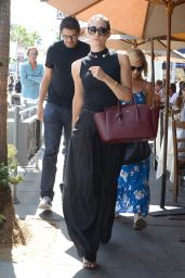 Emmy Rossum - Having Lunch in Beverly Hills - September 2014