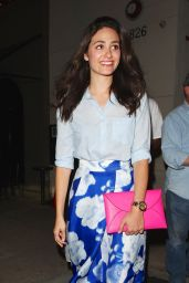 Emmy Rossum Night Out Style - Leaving Craig