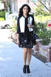 Emmy Rossum Style - Out in Burbank, September 2014