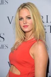 Erin Heatherton at Russell James' 'Angel' Book launch in New York City