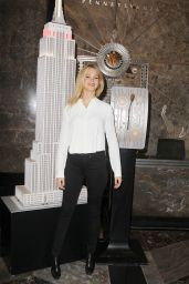 Erin Heatherton at the Empire State Building in New York City - September 2014